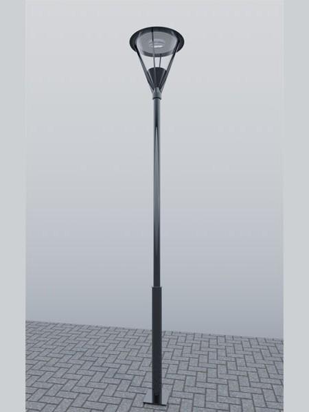 Фонарь LS Стрит-18 с отраженным светом, h=4м. Полный комплект.