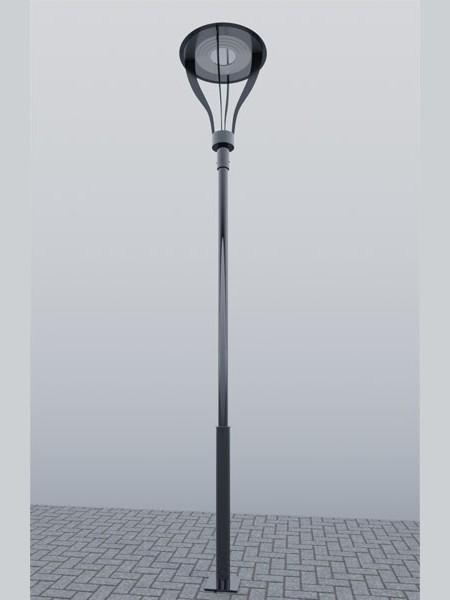 Парковый фонарь LS Стрит-35, h=4м. Полный комплект.