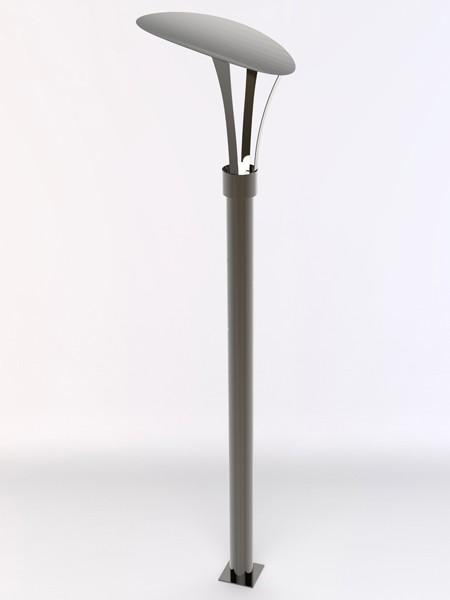 Фонарь LS Стрит-25, h=3,6м без подсветки столба. Полный комплект.