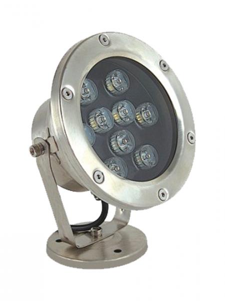 Влагозащищенный (подводный) LED светильник белый 9Вт