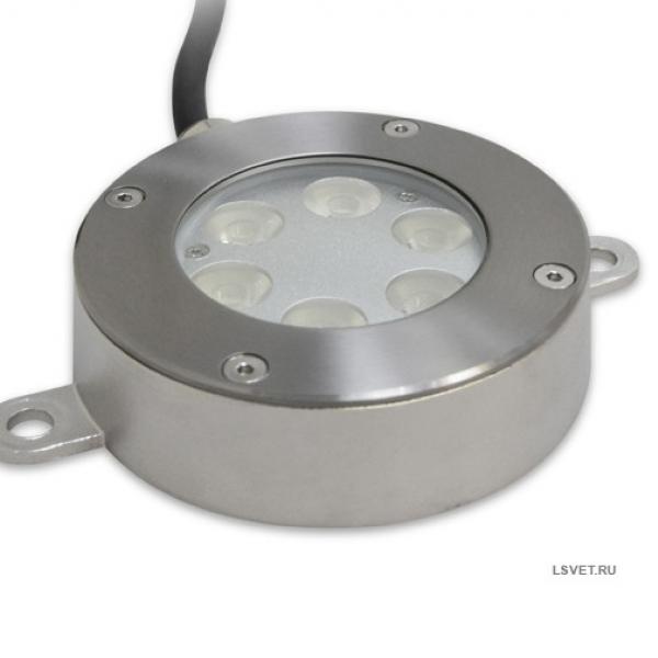 Накладной подводный светильник 15,1 Вт
