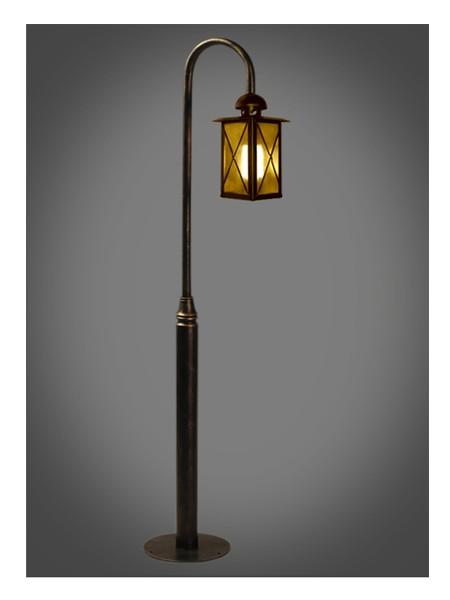 Серия Baveno, столб прямой 1,2м с завитком