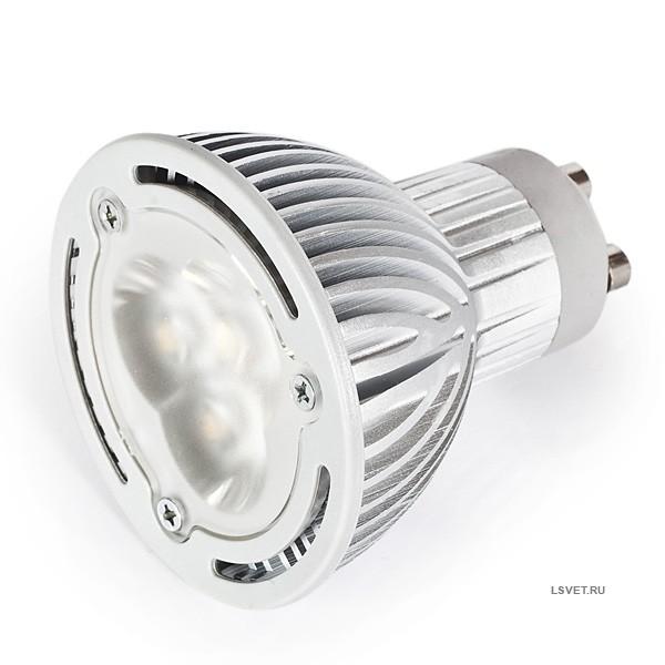 Светодиодная лампа GU10 140/160Lm 4.2 Вт