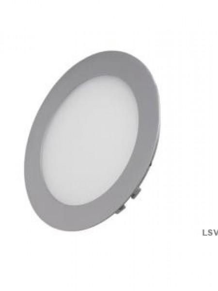 Светодиодная панель встраиваемая круглая AS 1260Lm 18Вт