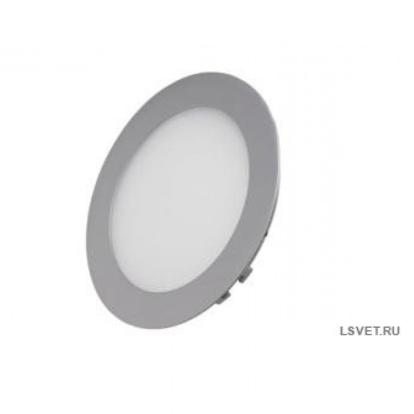 Светодиодная панель встраиваемая круглая AS 1680Lm 24Вт