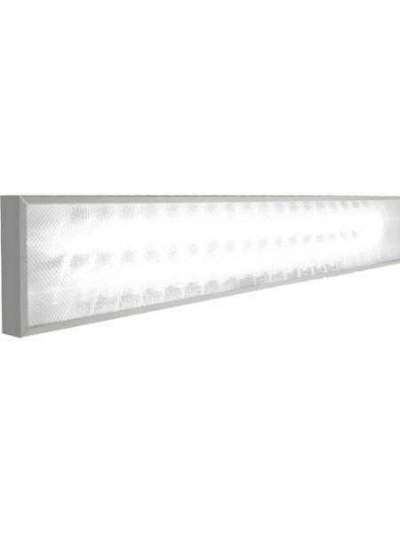 Светодиодный светильник Standart, 180х1200х40мм 40Вт, опал
