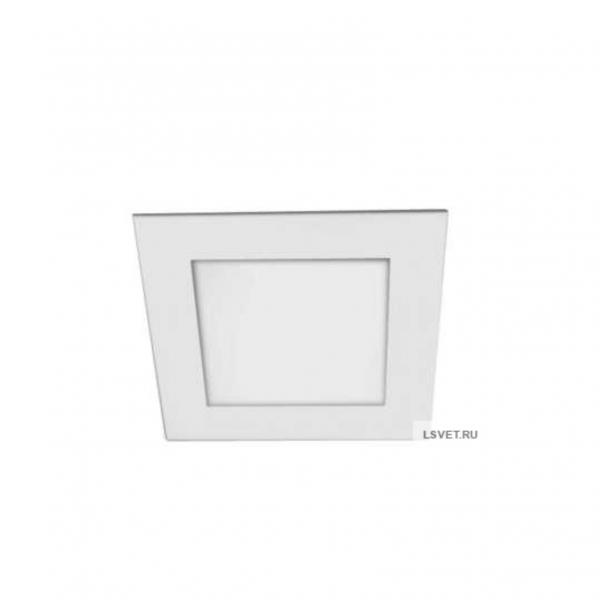 Cветодиодная панель встраиваемая квадратная AS 210Lm 3Вт