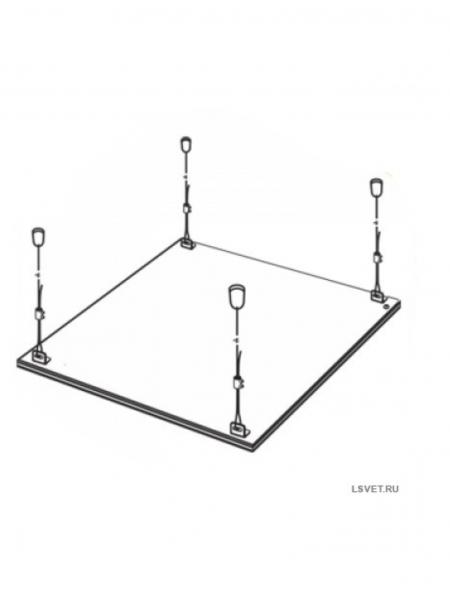 Комплект подвесов для тонких световых панелей