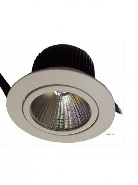 Встраиваемый круглый светильник DL 301 250-300Lm 5Вт