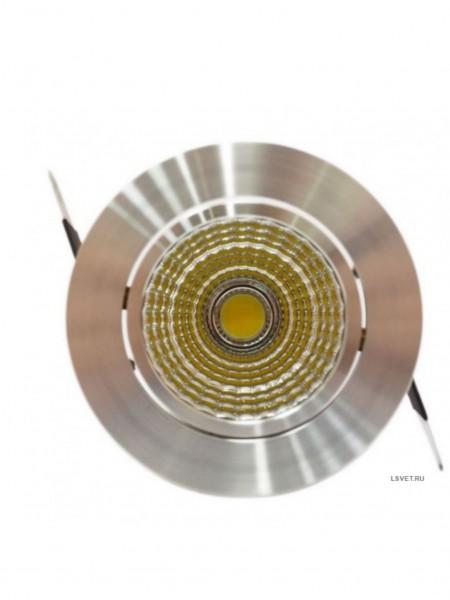 Встраиваемый круглый светильник DL 306 500-550Lm 10Вт