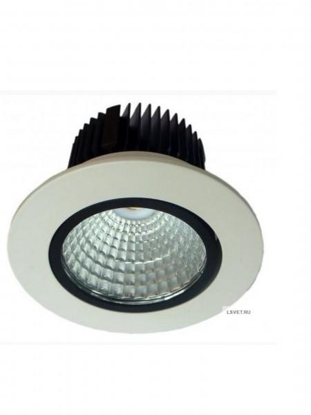 Встраиваемый круглый светильник DL 309 250-300Lm 5Вт