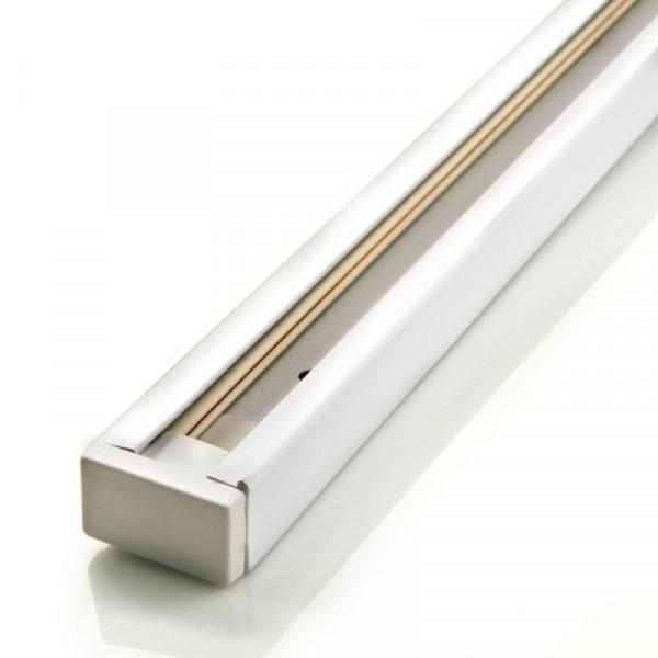 Шинопровод однофазный для трекового светильника белый 1 м