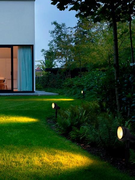 Садовый светильник 10Вт тепло-белый