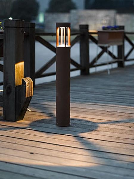Парковый светодиодный столбик 65см