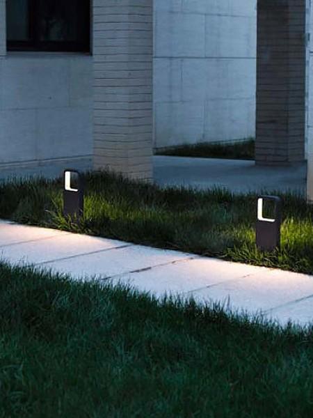 Парковый светодиодный столбик 35см