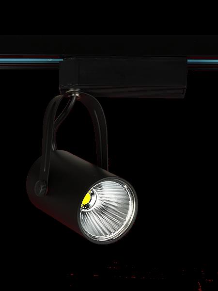 Трековый LED светильник 7Вт 560Lm, угол освещения 24°